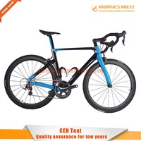 Hot selling ! Popular Chinese carbon fiber BIKE DISC / V BRKAE Carbon Road Bike,FULL Carbon Bicycle, Complete Road Bike 2016