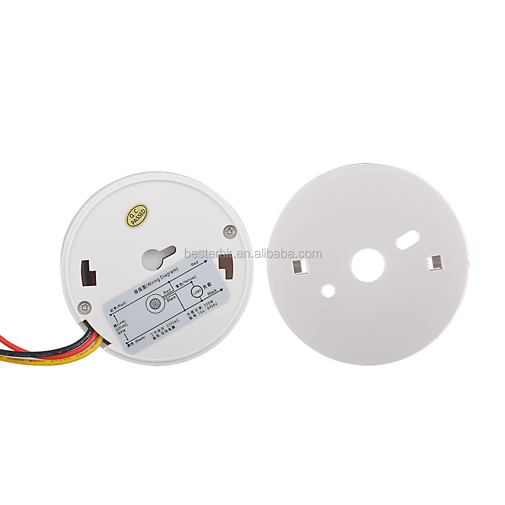 PIR Motion Sensor Switch for Lights with Dusk to Dawn Function