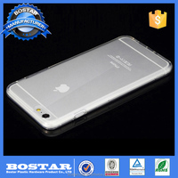 Soft transparent ultra thin TPU smartphone waterproof case for apple iphone 6s