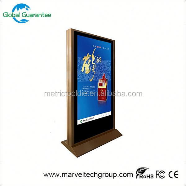 Full HD Advertising Digital Signage Samsung/LG TFT LCD / LED Panel Screen Display/22--85 inch advertising screen