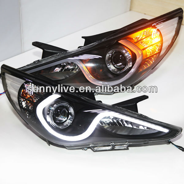 Hyundai Sonata YF Sonata I45 LED Strip head lamp 2009-14 Year ZJV3 Type