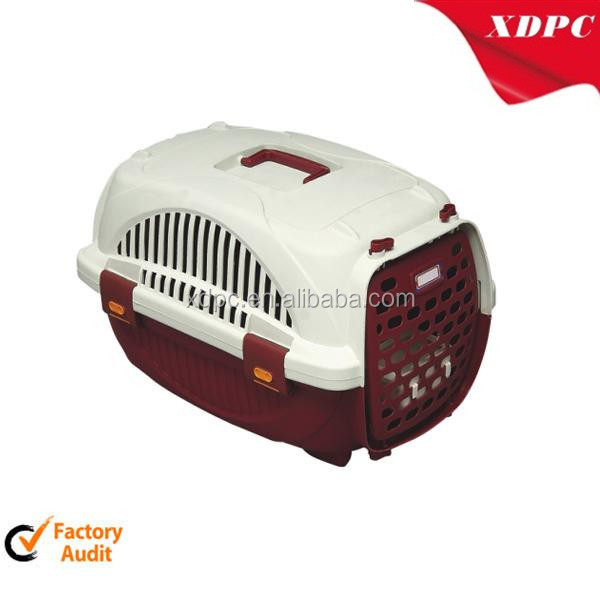 Plastic small animal cat travel carrier