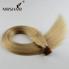 Fast delivery i tip hair extension manufacture stick weave brazilian human