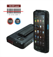 Android Bluetooth 1D 2D Barcode + Handheld RFID Reader for Phone