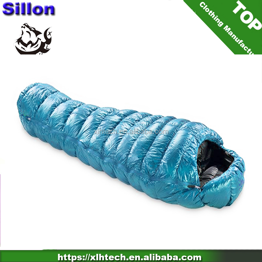 Amazon hot sale 90% down filled 800fill power down sleeping bag for winter