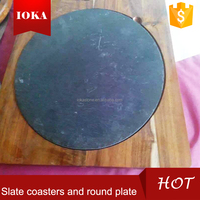 nature slate for coasters and plate