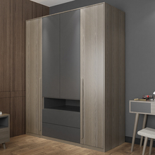 Best Quality CAERB II Certification Simple Wardrobe Modern Cabinet Used