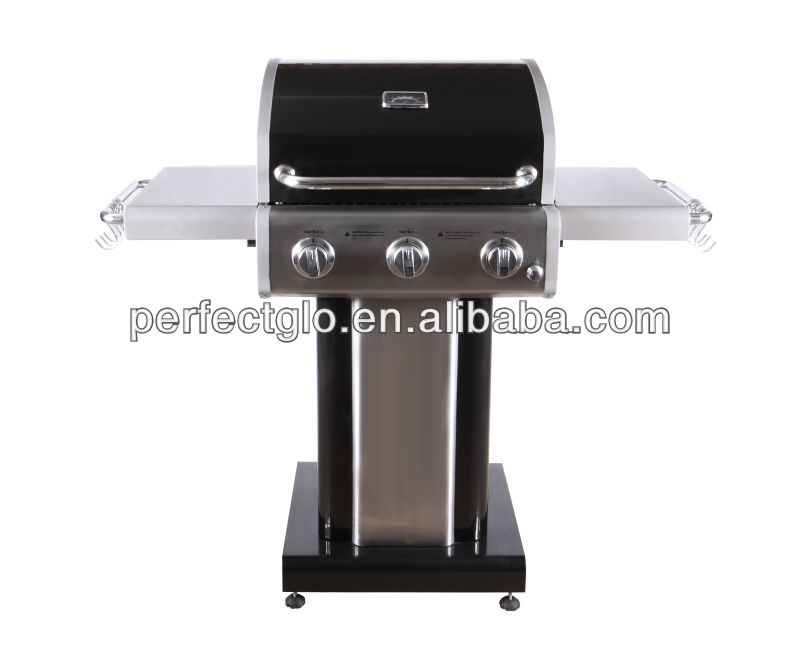 Aluminum Commercial BBQ gas grills with cast iron burners(PG-4030400L)