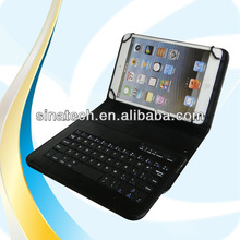 "Hot selling stand keyboard universal case for 8"" tablet PC for ipad, galaxy tab, kindle fire etc."