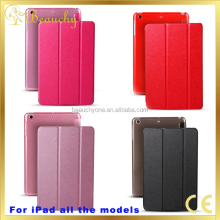 Wholesale fashion design genuine leather case for ipad mini 2 and for ipad 2 case in high quality