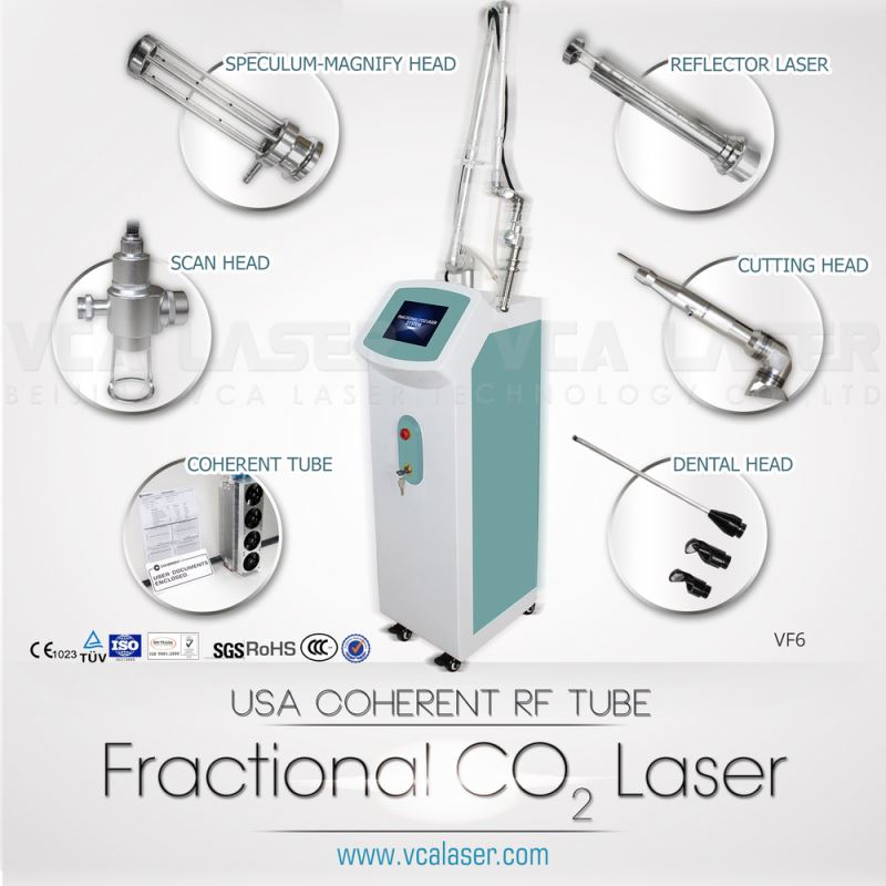 (CE approved)Professional medical treatment equipment--Fractional CO2 laser for scars&strechmark&wart removal!