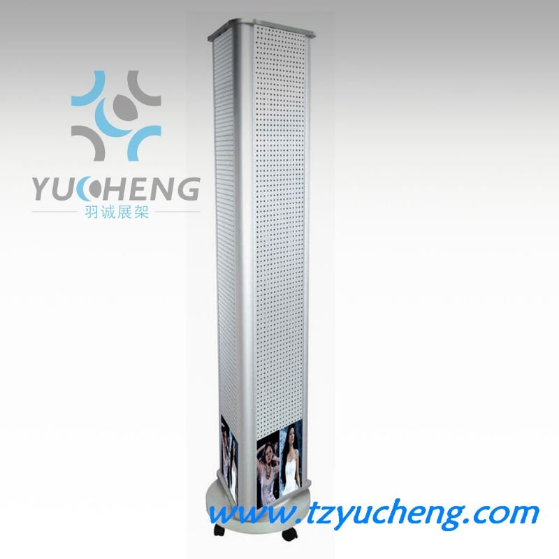 [YUCHENG]Rotating ornament floor display stand A307