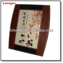 2016 Fantastic leather photo frame imitation leather picture frame