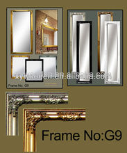 Decorative Modern Cosmetic Wooden Mirror Frame