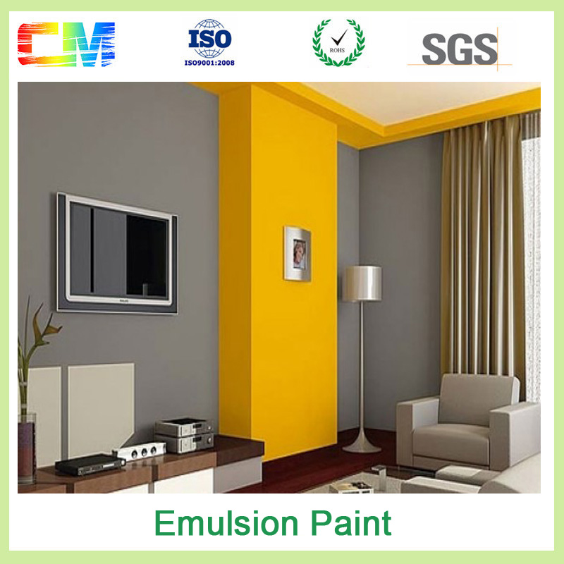 Liquid state good scrub and stain resistance acrylic emulasion odor free wall paint
