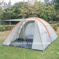 3 PERSON FAMILY TENT WITH LIVING ROOM-GREY