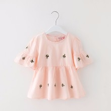 OEM/ODM Baby Girl Clothes Fashion Cartoon Girls Summer Kids Clothes Baby Suits Children Clothing