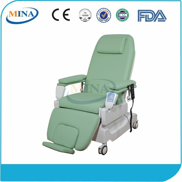 MINA-BC10 electric medical equipment mobile phlebotomy chair