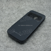 New Arrival 5V 2600mAh External Battery Pack Phone Charger Case for Samsung Galaxy S4 mini with flip cover