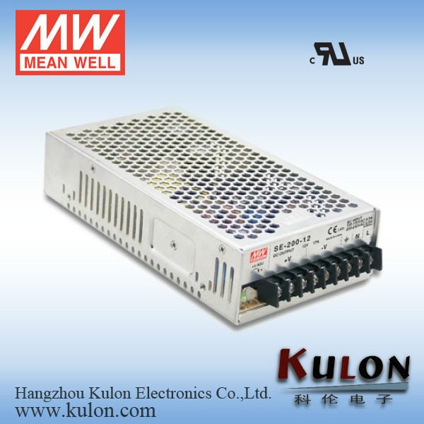 Meanwell SE-200-24 211W 24V high voltage high frequency power supply