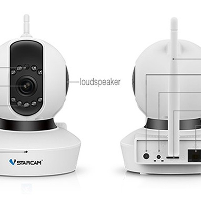 VStarcam C23S 2MP indoor ip camera support ONVIF wifi wireless p2p security cctv face detection camera