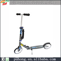 2016 popular high quality full aluminium two wheels kids scooter,ebike
