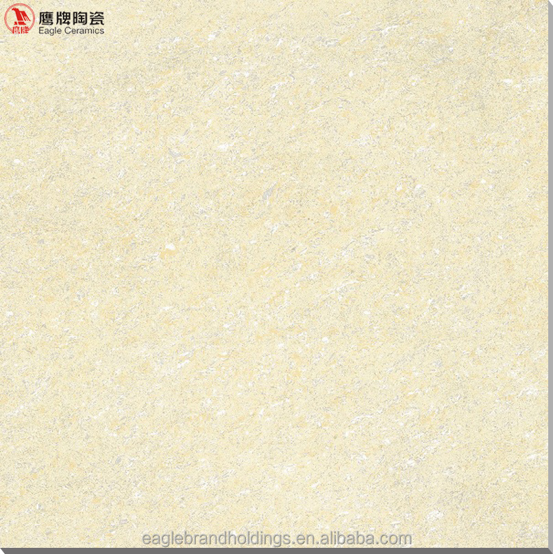 800*800 Yellow polished porcelain tile, double charge vitrified floor tiles <strong>ceramic</strong>