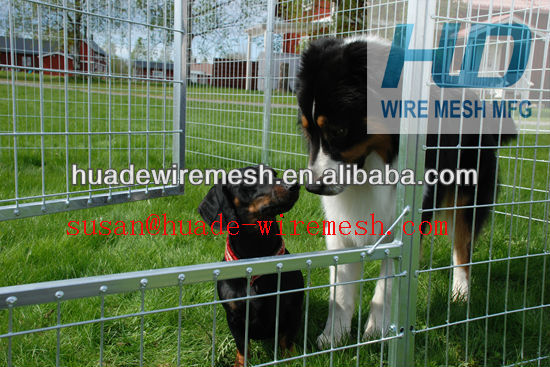 welded fence/fence dog kennels/panel/sweden dog cage