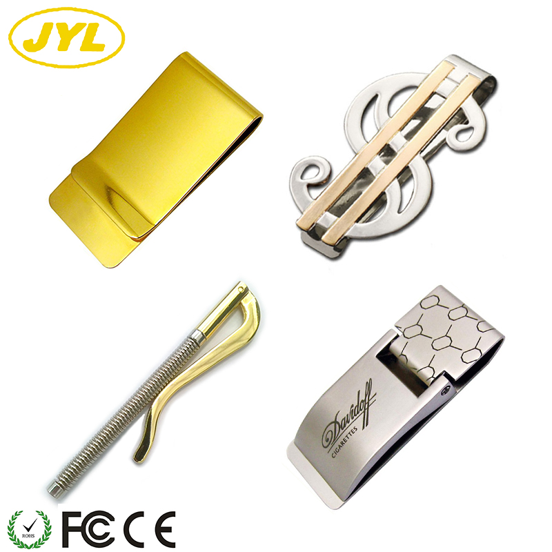 Blank spring replica wholesale custom metal wallet money clip