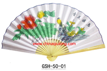 Chinese Large Size Hand Fans for Home Decoration Chinese Big Fan For Wall Decoration
