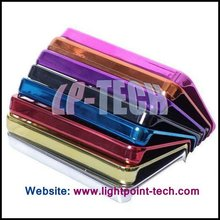 Hard Cell Phone Covers with Chromed Electroplating Hard Case Cover for iPhone 4