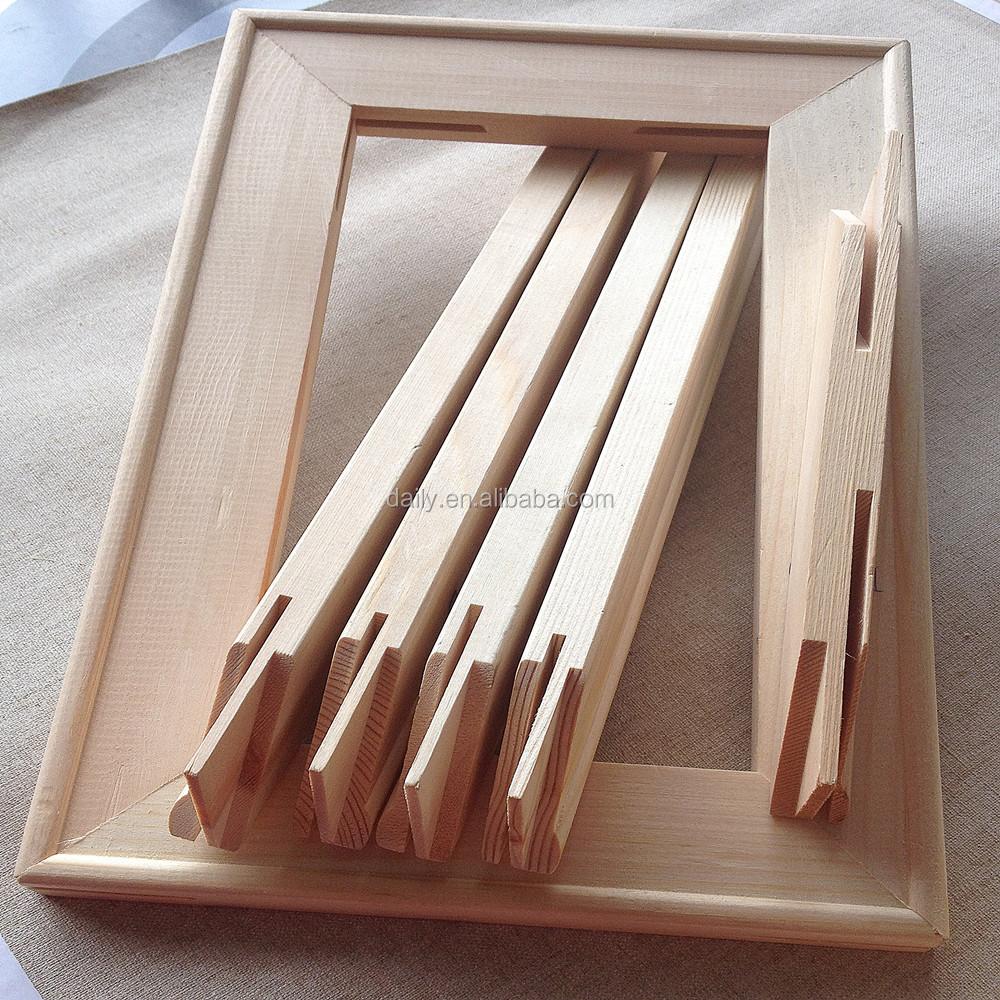 Unique Custom Wood Frames For Canvas Vignette - Picture Frame Ideas ...