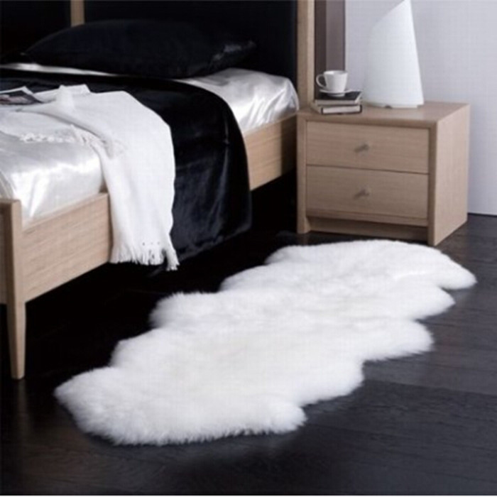 Modern home decor soft shaggy water absorbent rugs