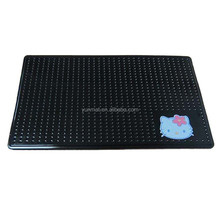 PU car sticky anti-slip mat, dashboard non slip pad