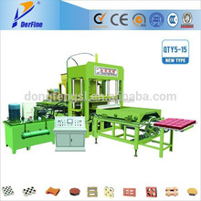 QTY5-15 fly ash brick making machine in kolkata
