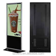 43 inch LCD floor stand ultra slim advertising display monitor digital signboard