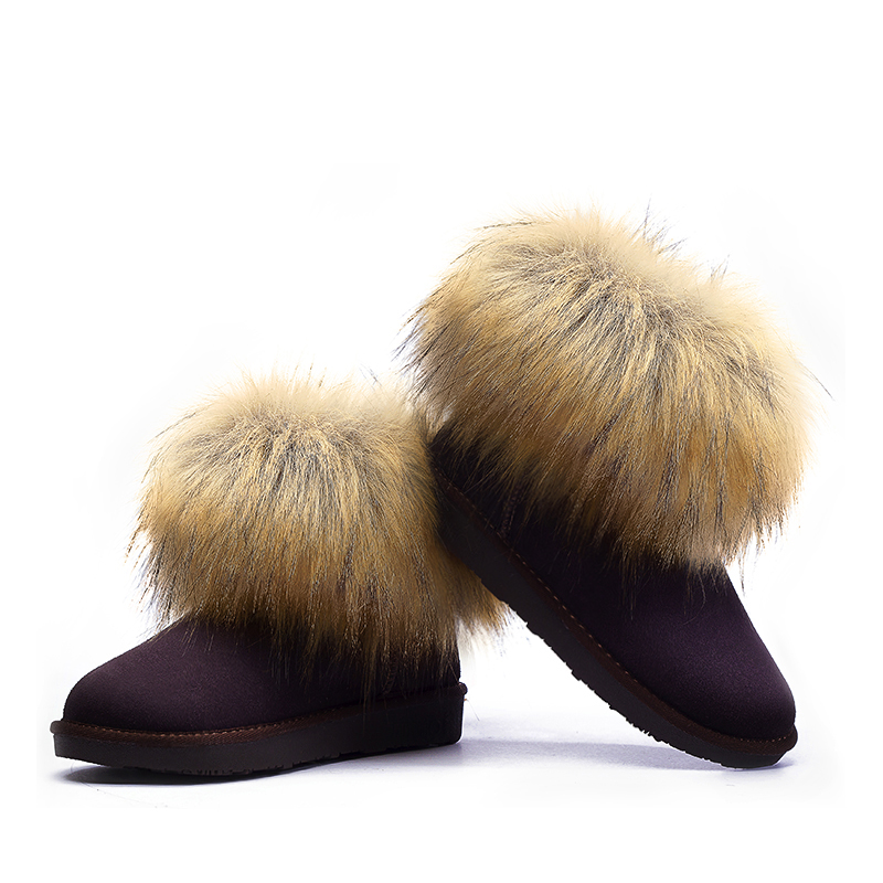 Wholesale winter snow <strong>boot</strong>,cowhide fashion woman <strong>boot</strong>,lady winter <strong>boot</strong>
