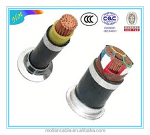 PVC insulation and coated Multi-core Flame retardant electrical cable