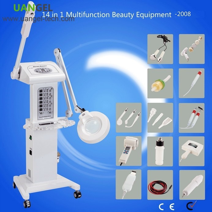 New trend 2017 electronic beauty and face skin healty equipments with multi functional