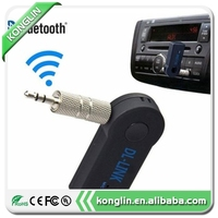 Mobile phone accessories of bluetooth receiver speaker,3.5mm wireless car handsfree stereo usb bluetooth audio music receiver