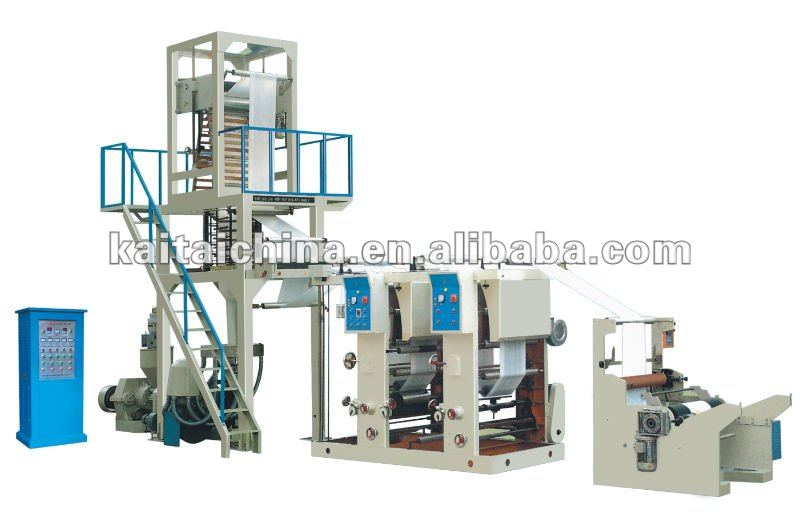 PE film blowing rotogravure printing machine