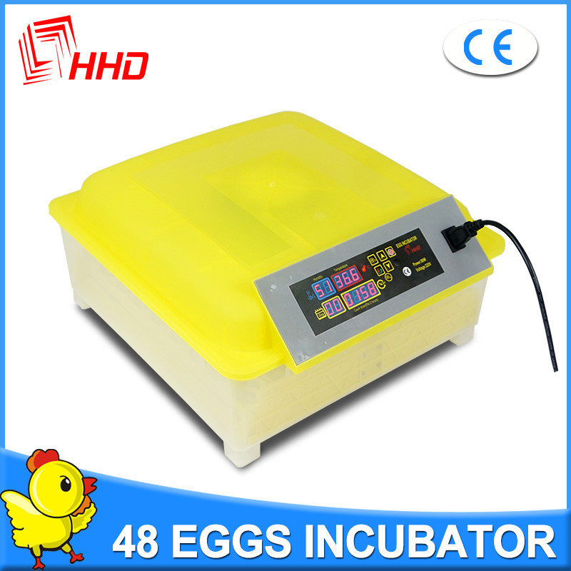 Good Quality High Hatchability Family Reptile Products 48 eggs cheap egg incubator