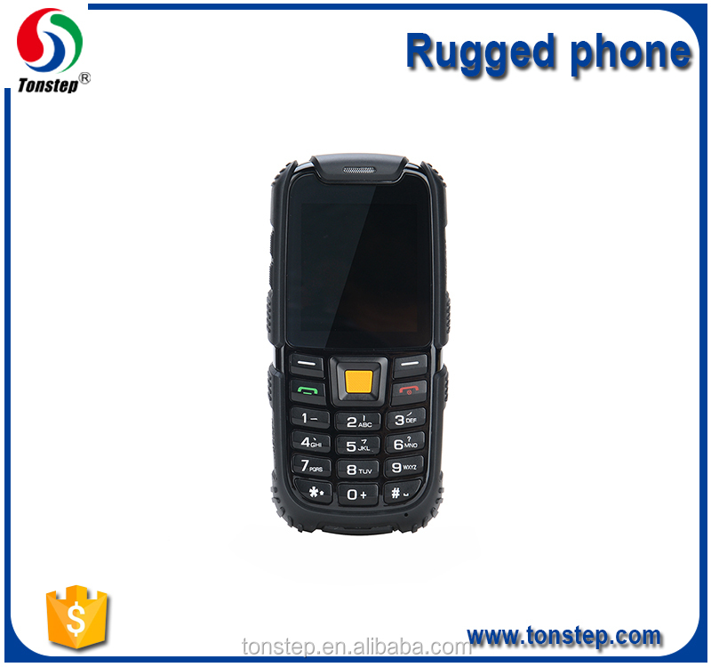 2.4 inch SC6260A Drop-proof and shockproof IP68 rugged mobile phone