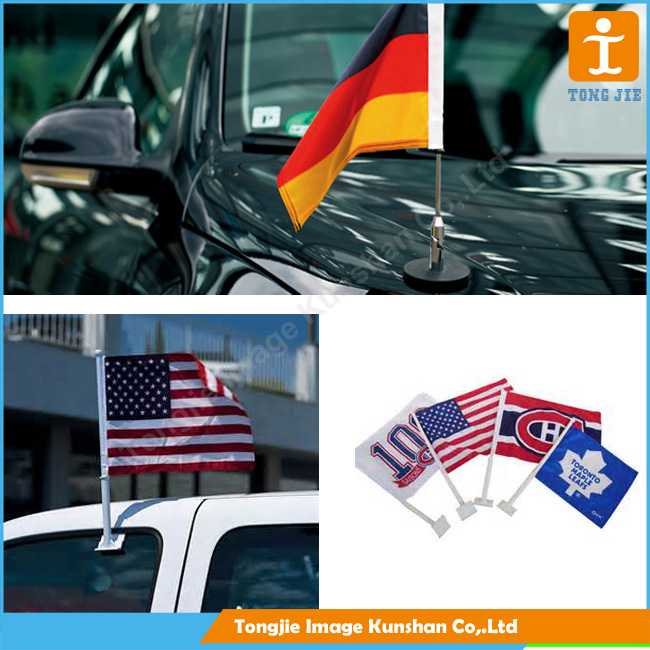 New! Hot! car hood cover flag
