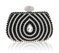 Wholesale Instock Pearl embroidered clutch bag made of beads