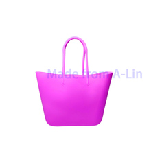 New silicone bag fashion silicone tote bag silicone food storage bag
