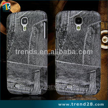 wholesale imitate cowboy jeans phone case for galaxy s4