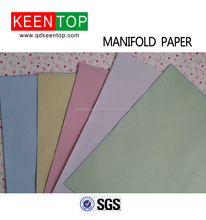 manifold paper for company,color manifold paper for office,high quality color manifold paper