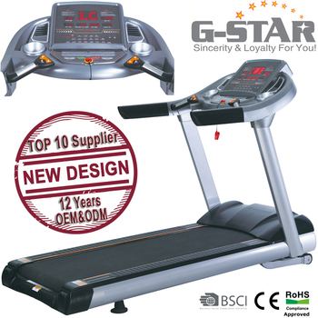 GS-155A-A New Design LIFE Fitness Commercial Professional Treadmill with TV
