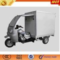 three wheeler container tricycle for cargo
